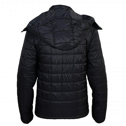 TREQA Pumori Men's Insulated Jacket 200 GSM CCS - Black - Back View