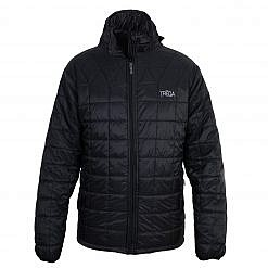 TREQA Pumori Men's Insulated Jacket 200 GSM CCS - Black - Front View