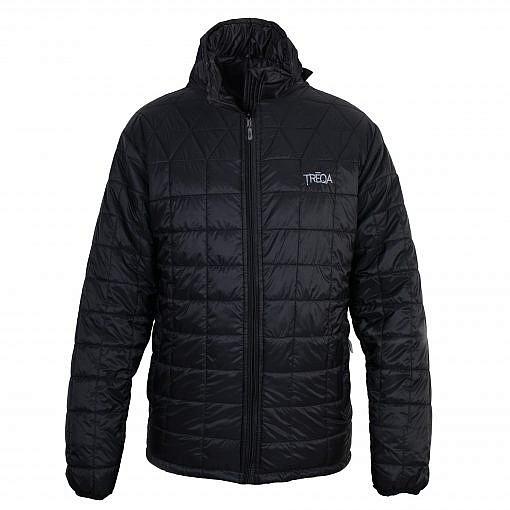 TREQA Pumori Men's Insulated Jacket 200 GSM CCS - Black - Front View