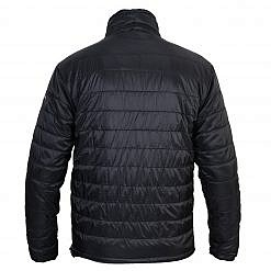 TREQA Men's Sonam Insulated Jacket 150GSM - Black - Back View