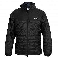 TREQA Men's Sonam Insulated Jacket 150GSM - Black - Front View
