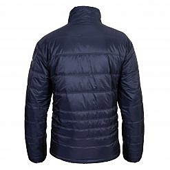 TREQA Men's Sonam Insulated Jacket 150GSM - Steel Blue - Back View