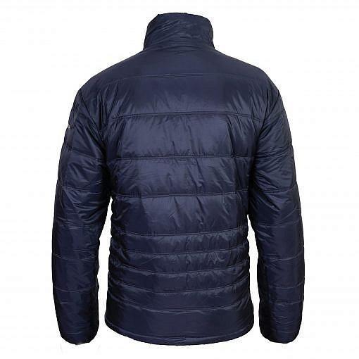 TREQA Men's Sonam Insulated Jacket 150GSM - Steel Blue - Back View