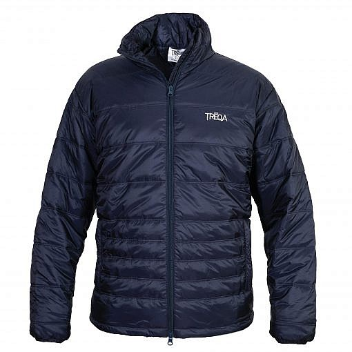 TREQA Men's Sonam Insulated Jacket 150GSM - Steel Blue - Front View