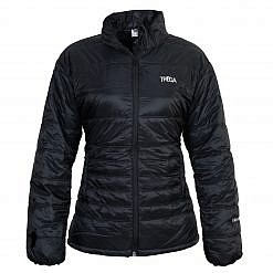TREQA Women's Sonam 150 GSM Insulated Jacket - Black - Front View