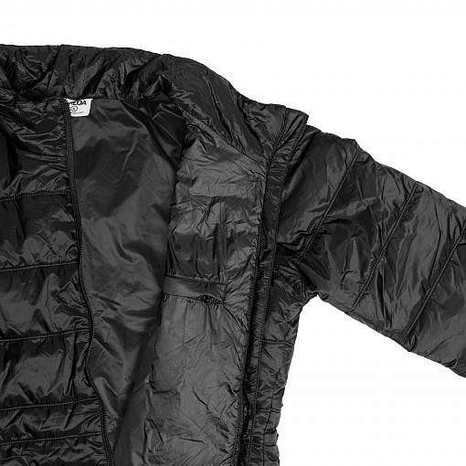 TREQA Women's Sonam 150 GSM Insulated Jacket - Black - Inside View