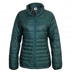 TREQA Women's Sonam Insulated Jacket 150 GSM - Green - Front View
