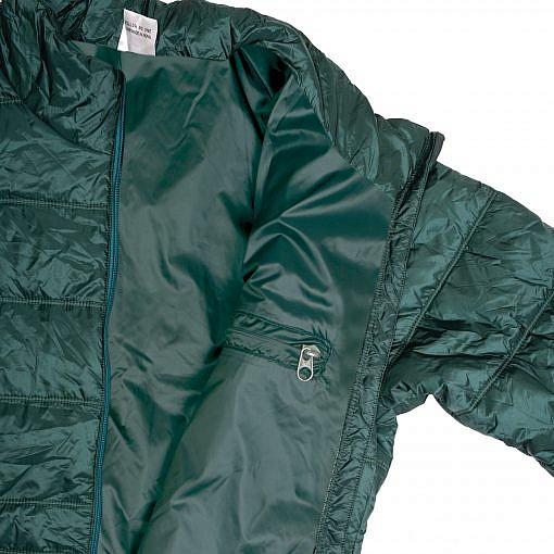 TREQA Women's Sonam Insulated Jacket 150 GSM - Green - Inside View