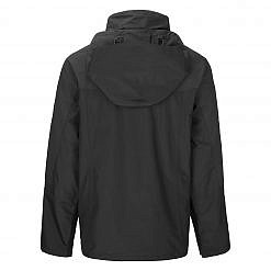 TREQA Men's Yeti Shell Jacket CCS - Black - Back View