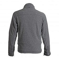 TREQA Men's Cho-oyu Fleece Jacket CCS - 2 Tone Grey - Back View