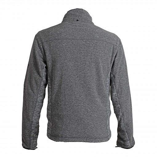 TREQA Men's Cho-oyu Fleece Jacket CCS - 2 Tone Grey - Back View