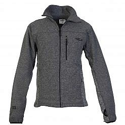 TREQA Men's Cho-oyu Fleece Jacket CCS - 2 Tone Grey - Front View