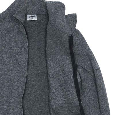 TREQA Men's Cho-oyu Fleece Jacket CCS - 2 Tone Grey - Inside View