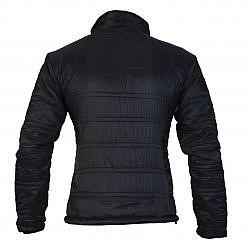 TREQA Women's Dablam Insulated Jacket 150 GSM CCS - Black - Back View