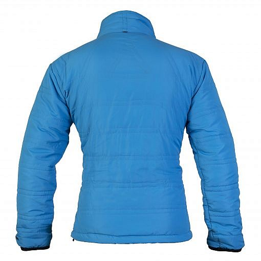 TREQA Women's Dablam Insulated Jacket 150 GSM CCS - Blue - Back View