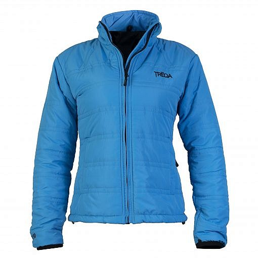 TREQA Women's Dablam Insulated Jacket 150 GSM CCS - Blue - Front View