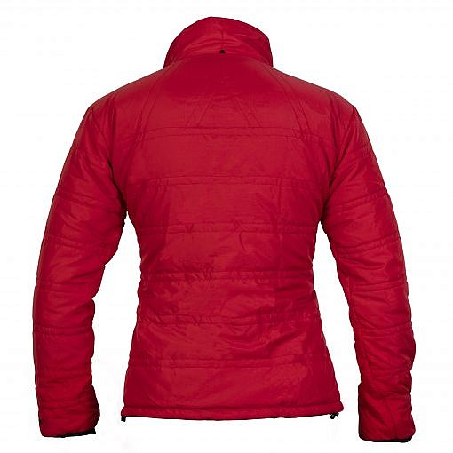 TREQA Women's Dablam Insulated Jacket 150 GSM CCS - Red - Back View