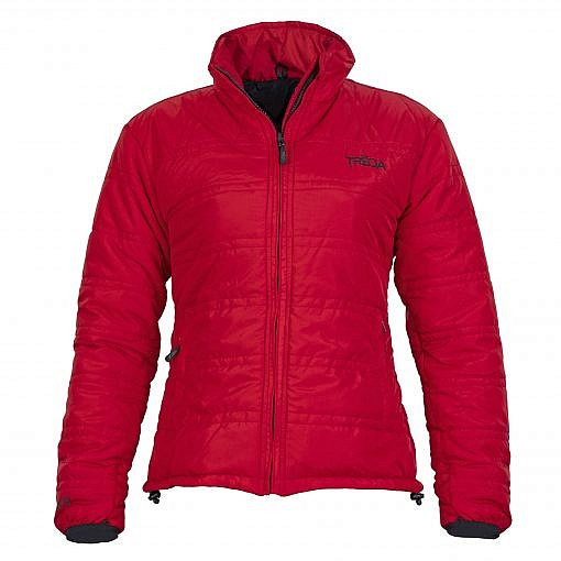 TREQA Women's Dablam Insulated Jacket 150 GSM CCS - Red - Front View