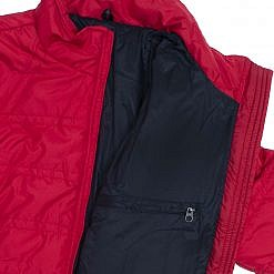 TREQA Women's Dablam Insulated Jacket 150 GSM CCS - Red - Inside View