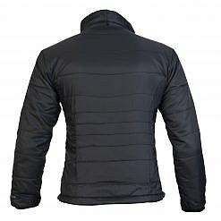 TREQA Women's Khumbu Insulated Jacket 100 GSM CCS - Black - Back View