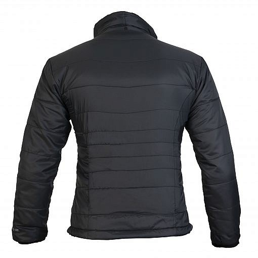 TREQA Women's Khumbu Insulated Jacket 100 GSM CCS - Black - Back View