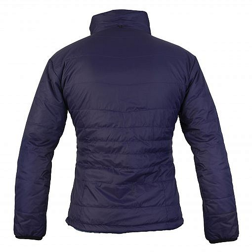 TREQA Women's Khumbu Insulated Jacket 100 GSM CCS - Purple - Back View