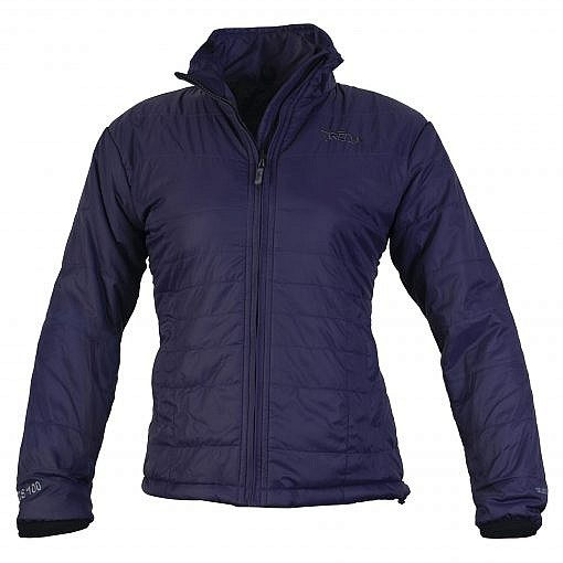TREQA Women's Khumbu Insulated Jacket 100 GSM CCS - Purple - Front View