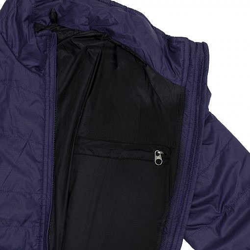 TREQA Women's Khumbu Insulated Jacket 100 GSM CCS - Purple - Inside View