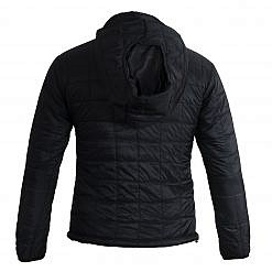 TREQA Women's Pumori Insulated Jacket 200 GSM CCS - Black - Back View