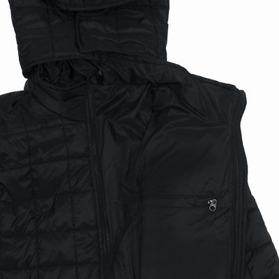 TREQA Women's Pumori Insulated Jacket 200 GSM CCS - Black - Inside View