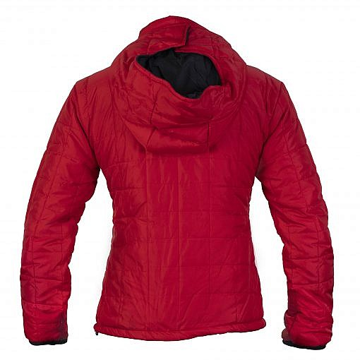 TREQA Women's Pumori Insulated Jacket 200 GSM CCS - Red - Back View
