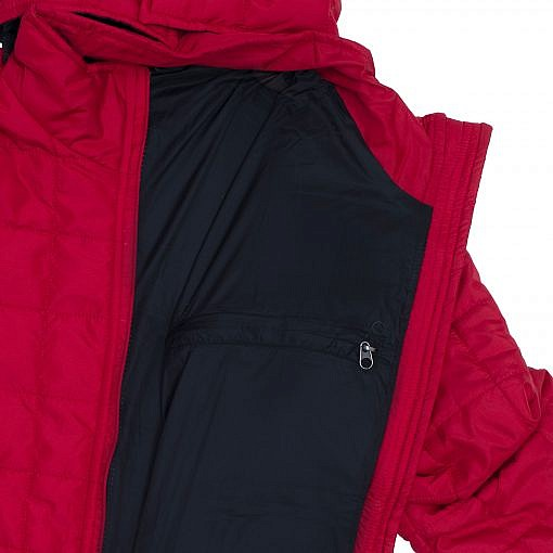 TREQA Women's Pumori Insulated Jacket 200 GSM CCS - Red - Inside View