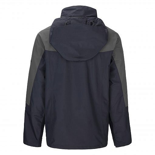 TREQA Men's Yeti Shell Jacket CCS - Grey / Black Back Vew