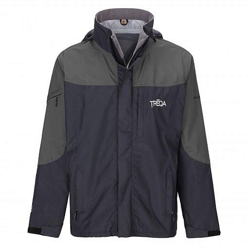 TREQA Men's Yeti Shell Jacket CCS - Grey / Black