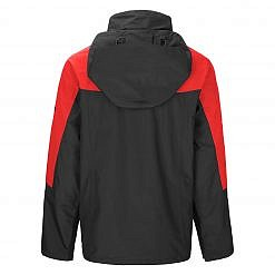 TREQA Men's Yeti Shell Jacket CCS - Red / Black Back View