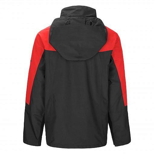 TREQA Men's Yeti Shell Jacket CCS - Red / Black Back View