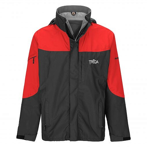 TREQA Men's Yeti Shell Jacket CCS - Red / Black