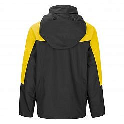 TREQA Men's Yeti Shell Jacket CCS - Yellow / Black Back View
