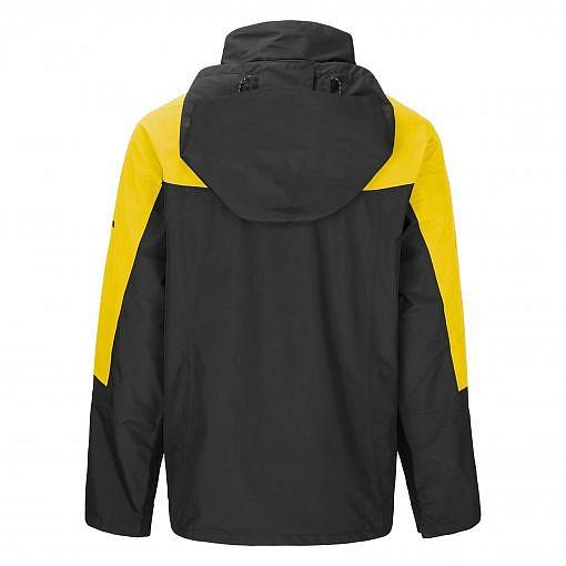 TREQA Men's Yeti Shell Jacket CCS - Yellow / Black Back View