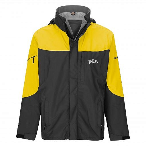 TREQA Men's Yeti Shell Jacket CCS - Yellow / Black