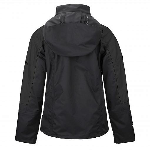 TREQA Women's Yeti Shell Jacket CCS - Black Back View