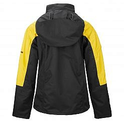 TREQA Women's Yeti Shell Jacket CCS - Yellow / Black Back View