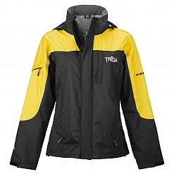 TREQA Women's Yeti Shell Jacket CCS - Yellow / Black