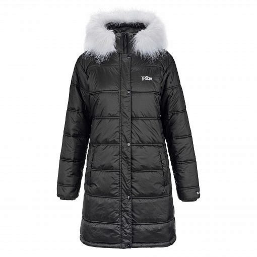 Everest Regal with White Faux Fur Front View