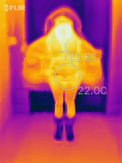 Thermal Photo of Regal Parka Wide Open