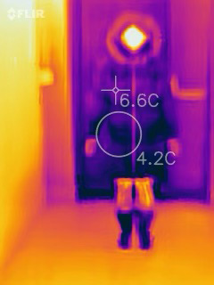 Thermal Photo of Regal Parka Zipped