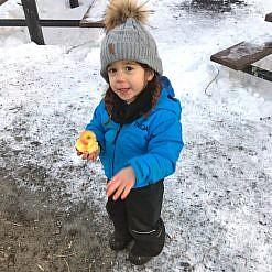 Photo of Child Wearing Lukla Jacket