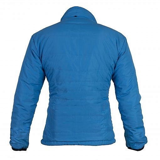 TREQA Women's Khumbu Insulated Jacket 100 GSM CCS - Blue - Back View