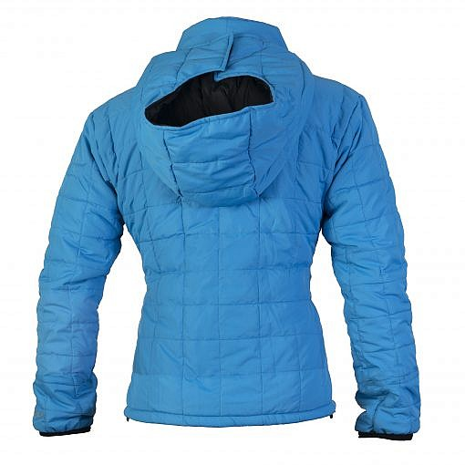 TREQA Women's Pumori Insulated Jacket 200 GSM CCS - Blue - Back View