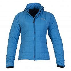 TREQA Women's Pumori Insulated Jacket 200 GSM CCS - Blue - Front View